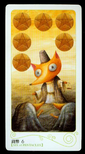 Magical Forest - 6 of Pentacles - Aeclectic Tarot Forum