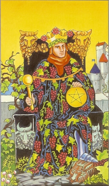 king of pentacles question - Aeclectic Tarot Forum