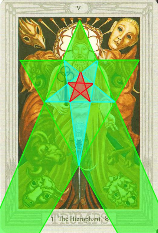 Thoth Hierophant and hexapentagrams - Aeclectic Tarot Forum