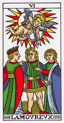 The Lovers: love or choices? - Aeclectic Tarot Forum