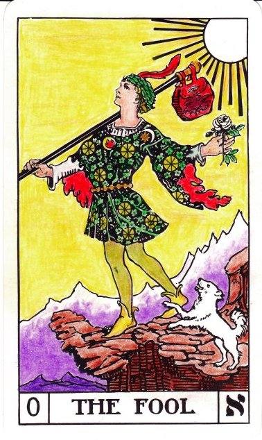 Image result for tarot the fool bota