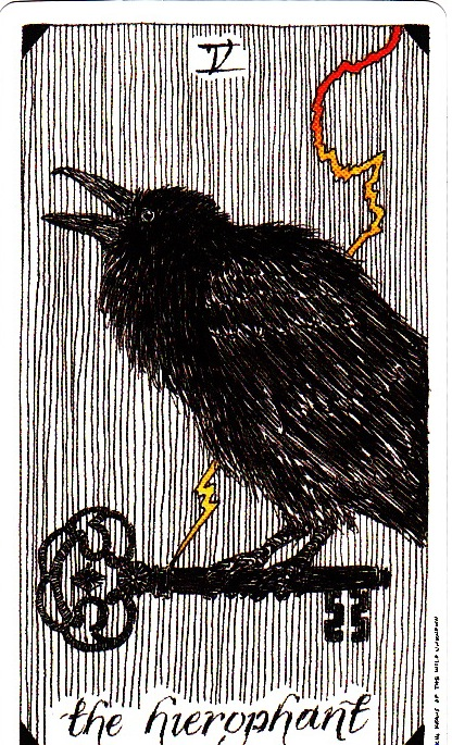 The Wild Unknown Tarot - The Hierophant V - Aeclectic Tarot