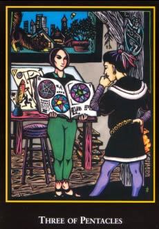 Non-Traditional Meanings for the Three of Pentacles